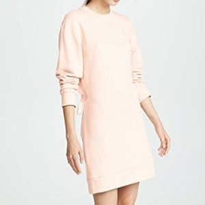 NWOT - TIBI Open Back Sweatshirt Short Dress -S